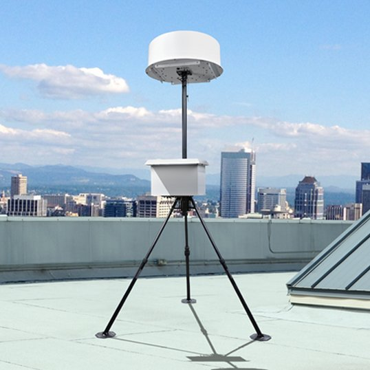 Photo showing spectrum monitoring from TCI International - SPX Corporation